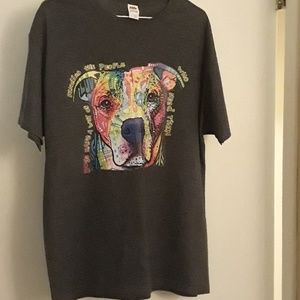 Fruit of the Loom Shirts - New Dog Lover t-shirt   Various sizes Colorful